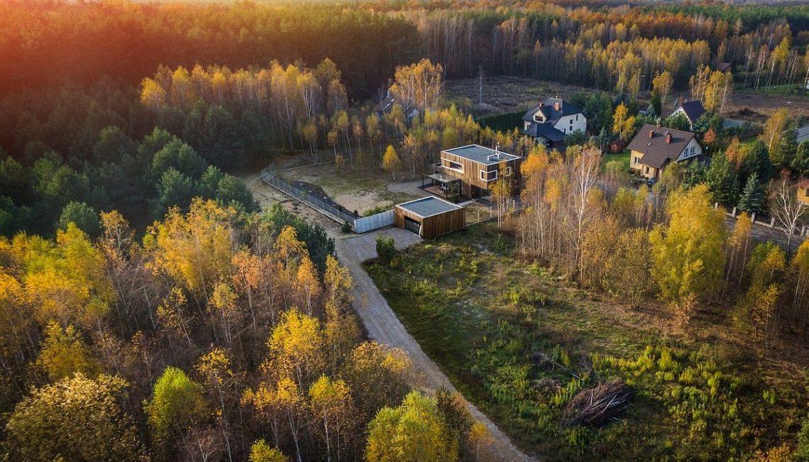Dom pod Warszawą Realizacja