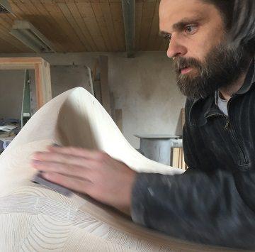 Ławka – rzeźba